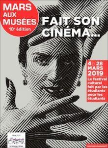 Affiche de Mars aux Musées 2019