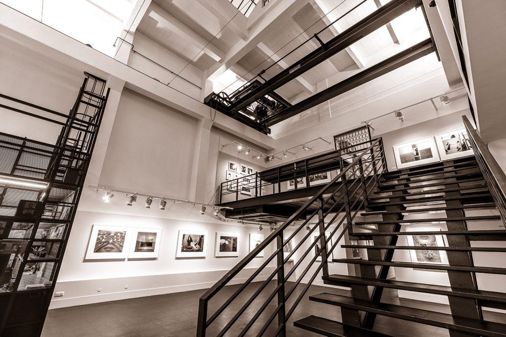 Vie générale intérieur musée